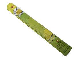 お香 レモン香 スティック /HEM LEMON/インセンス/インド香/アジアン雑貨(ポスト投函配送選択可能です/6箱毎に送料1通分が掛かります)