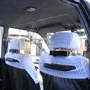 ハッピークロイツ 車内の飛沫ブロッカー ! (タクシー専用 飛沫防止用 透明 アクリル板) (2枚1セット) HZ2902