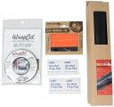 カーラッピング 【スターターキット】 ( カーラッピングフィルム30cm x153cm / WrapCut ナイフレスラインテープ 60m / ラッピング専用…