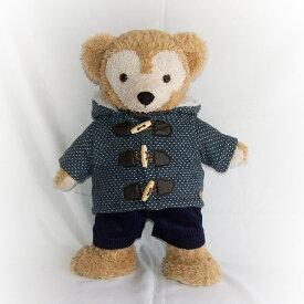【ゆうパケットOK】ダッフィー コスチューム グッズ シェリーメイ Sサイズ 43cm ドットダッフルコート パンツ インナーセット coat185 Duffy グッズ