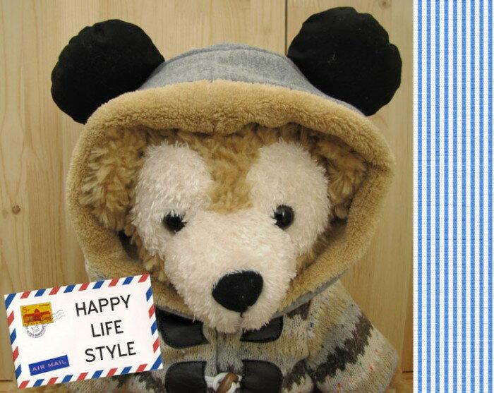 【ゆうパケット発送OK】ダッフィー*シェリーメイコスチューム★Sサイズ43cm★【限定1】グレー帽子【洋服】hat1
