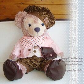 ダッフィー シェリーメイ スウィーツ コスチューム グッズ ピンク Mサイズ 70cm sweets-pink-m 洋服 服