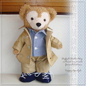 ダッフィー コスチューム グッズ シェリーメイ Sサイズ 43cm 定番 トレンチコート trenchcoat 洋服 服 Duffy グッズ