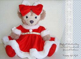【アウトレット】ダッフィー*シェリーメイ★クリスマに♪クリスマスツートンカラー*豪華ワンピース・コスチューム*xm11-outlet