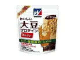 □【クリアランス】【3袋セット】森永製菓 ウイダー 大豆プロテイン コーヒー味 140g×3袋