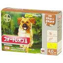 OP【メール便・送料無料】犬用 フォートレオン (32kg以上40kg未満) 4.0ml×3本 代引き不可