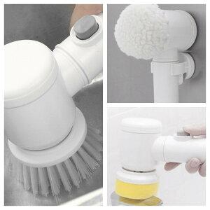 多機能クリーナーブラシ お掃除ブラシ 電動ブラシ 電池式 電動お掃除ブラシ コードレス 強力 汚れ取り除く 楽に掃除 浴槽 台所 風呂 キッチン 鏡 ハンディクリーナー