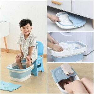 折り畳み足湯バケツ 足浴槽用の子供用と大人用の足浴用バケツ  家庭用スパペディキュア用の足 足湯