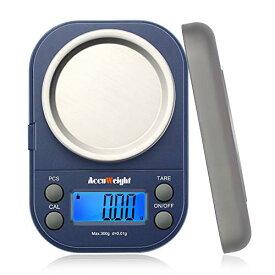 Accuweight デジタル 計量器 携帯タイプはかり 電子はかり スケール 電子秤 精密デジタルはかり 0.01g単位 300g 業務用 電子天秤 計