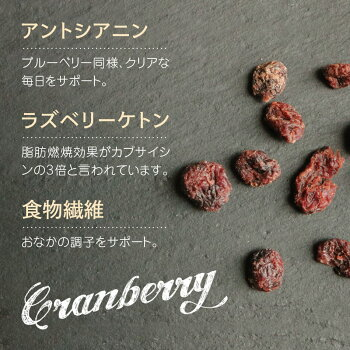 ハッピーナッツカンパニーカナダ産クランベリー微糖150g