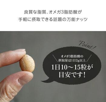ハッピーナッツカンパニーペルー産素焼きサチャインチナッツ無塩45g