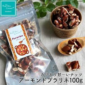 アーモンドプラリネ 100g 甘い 一口サイズ ナッツ専門店 ハッピーナッツカンパニー 湘南鎌倉・横浜