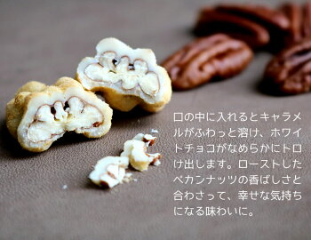 季節限定商品ハッピーナッツカンパニーペカンナッツショコラキャラメル60g