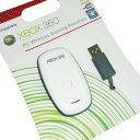 送料無料 XBOX360ワイヤレスコントローラがPCで使えるレシーバー ホワイト ブラック PCワイヤレスゲーミングレシーバー USB PCドライバー付き