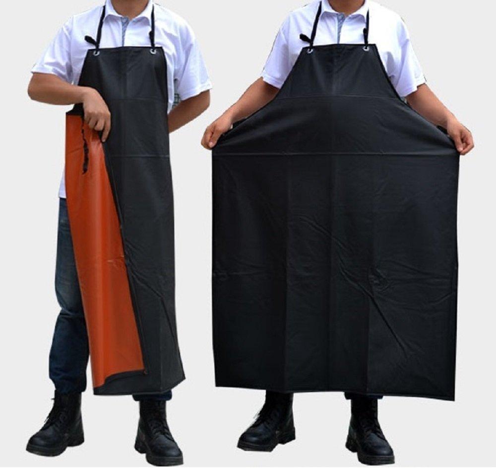 完全防水エプロン 作業がしやすい 長持ち 足元まであり 黒 洗濯をしてもしわになりにくい素材 干しやすい 耐洗 耐摩 キッチン ガーデニング 作業 撥水性エプロン 履き脱ぎやすい 2つの大きなポケット 首掛けタイプ シンプルなエプロン 大人気
