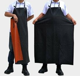 完全防水エプロン 作業がしやすい 長持ち 足元まであり 黒 洗濯をしてもしわになりにくい素材 干しやすい 耐洗 耐摩 キッチン ガーデニング 作業 撥水性エプロン 履き脱ぎやすい 首掛けタイプ シンプルなエプロン 大人気