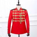【サイズ有S/M/L/XL/2XL】イギリス近衛兵 演出服 華麗な王族服 ゴシック 王子様 ヨーロッパ風 復古風 コスプレ衣装 将…