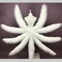 【再入荷】コスプレ道具 狐の尻尾 アニマル動物 ピンク ホワイト 2colors 九尾 60cm 80cm 100cm 3タイプ モコモコ cos…