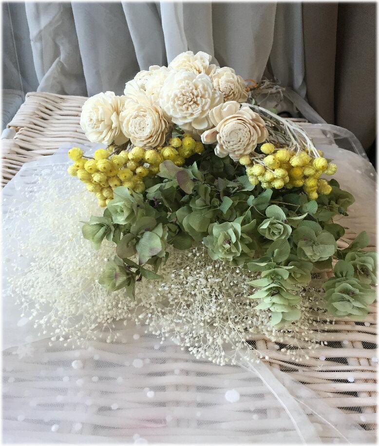 **!人気です☆ハンドメイドの花材としても☆ドライフラワーの花束☆人気のオレガノケントビューティー イモーテル