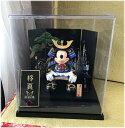 送料無料!!五月人形☆ディズニーランド☆ケースとお名前旗と五月人形セット