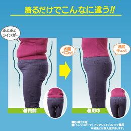 【送料無料】シンクロボーテアクアシェイプスパッツ同色同サイズ2枚組着圧レギンス加圧着圧レギンスタイツシェイプアップインナー補正下着補整下着下半身痩せ足痩せ脚やせ下半身ヒップアップお腹太もも痩せ引き締め脂肪燃焼ダイエットレディース