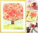 誕生日プレゼント 母 名前入れ絵画「いのちの樹」■名入れ Mサイズ ポエム 詩■ 還暦祝い 女性 50代 60代 70代 80代 …