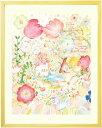 絵画 庭園 イングリッシュガーデン 「つなぐ」■Sサイズ■ 玄関に飾る絵画 風水 インテリア雑貨 おしゃれ 壁 おすすめ…