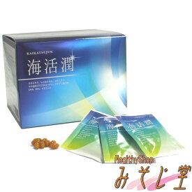 大和製薬株式会社 海活潤 4粒×30包 カキエキス しじみエキス オルニチン ホヤ由来プラズマローゲン オキアミ抽出物 DHA EPA ビタミンE