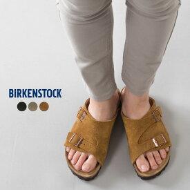 【hbA】ビルケンシュトック【BIRKENSTOCK】 ZURICH Soft Footbed Suede Leather チューリッヒ ソフトフットベッド レギュラー スウェード レザー ブランド ベルトサンダル HAPTIC ハプティック