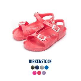 【hbB】ビルケンシュトック【BIRKENSTOCK】 RIO KIDS EVA リオ キッズ ナロー 子供用 子ども用 ブランド ウォッシャブル ストラップサンダル HAPTIC ハプティック
