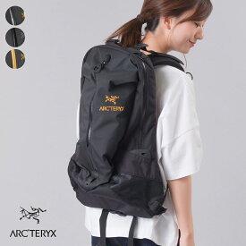 アークテリクス【Arc'teryx】ARRO 22 BACKPACK アロー 22 バックパック [6029] 22L 通勤 通学 バックパック アウトドア デイパック トラベル 軽量 HAPTIC ハプティック