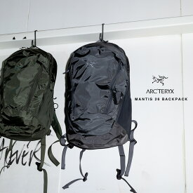 【Arc'teryx】アークテリクス MANTIS 26 BACKPACK マンティス 26 バックパック [25815] 26L リュックサック 通勤 通学 アウトドア デイリー トラベルバッグ HAPTIC ハプティック