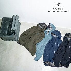 【Arc'teryx】アークテリクス ZETA SL JACKET MENS ゼータ SL ジャケット メンズ [21776] ハイキング トレッキングウェア アウトドア 超軽量 コンパクト 登山 HAPTIC ハプティック 敬老の日