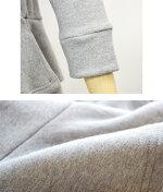 スウェットレディース【Ecarina】裏起毛2段フリル七分袖プルオーバー全4色プルオーバー無地トップスHAPTICハプティック