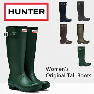 Hunter boots Original Tall 8-color black for women long rubber boots rain boots galoshes gardening rainwear winter snow outdoor rainy genuine sale