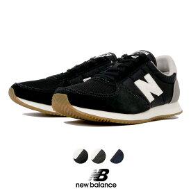 ニューバランス【New Balance】【NB】U220 HB HD HA レディース シューズ 靴 スニーカー ランニングシューズ Nロゴ ブラック カーキ ネイビー HAPTIC ハプティック