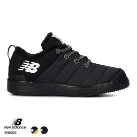 ニューバランス【New Balance】【NB】YHMOC BLK YLB キッズ シューズ 靴 スニーカー Nロゴ スリッポン 子供 子ども ジュニア 撥水加工 アウトドア HAPTIC ハプティック