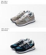 【半額クーポン利用不可】ニューバランスNewBalanceClassicRunningML574EGGEGRETAレディースシューズ靴スニーカーNewBalance23cm23.5cm24cm24.5cm25cm25.5cm