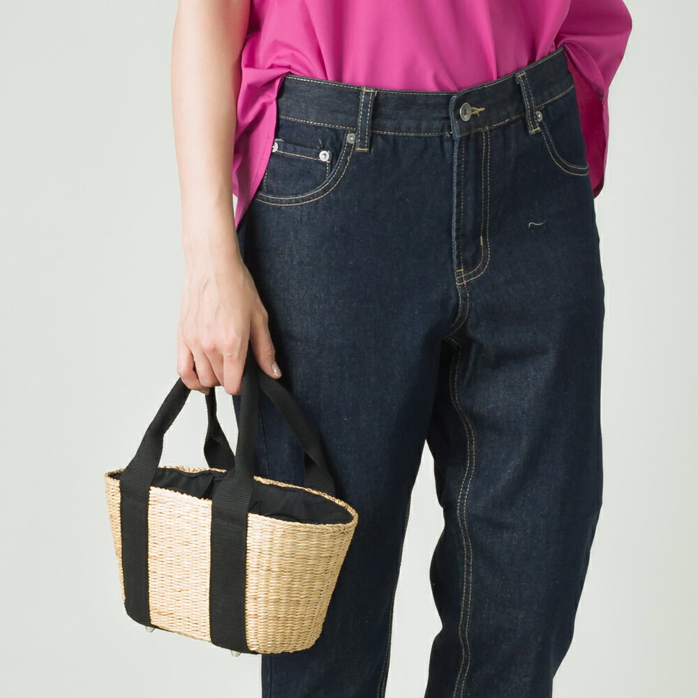 かごバッグ Sサイズ【nina fina】 レディース バッグ カゴバッグ 籠バッグ 小物 BAG 手提げ ハンドメイド 巾着 ハンドバッグ HAPTIC ハプティック