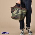ナイロントートバッグLサイズ【OMNES】オムネスレディースバッグ小物BAGレディースマザーズバッグトートバッグ肩掛けナイロン素材お泊りおでかけグッズマチモノトーン