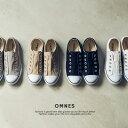 【OMNES】キャンバススリッポン スニーカー レディース オリジナル 靴 おしゃれ 人気 紐無し スリッポンタイプHAPTIC …