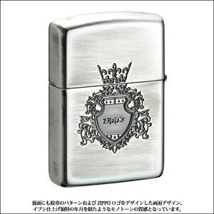 ZIPPOシェルシールド/盾/楯/紋章/貝貼り/おしゃれ/アーマーケース162番