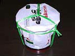 天然醸造 こうじや味噌 特撰吟醸「醸純」(粒)朱樽詰3kg入 箱入