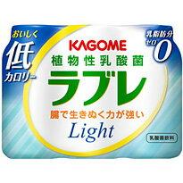 カゴメ 植物性乳酸菌ラブレ Light 80ml×3p 6個入り