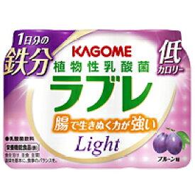 カゴメ 植物性乳酸菌ラブレLight 1日分の鉄分 80ml×3p 6個入り