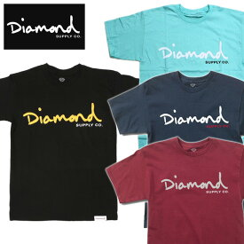 Diamond Supply Co./OG SCRIPT TEE(ダイヤモンドサプライ/プリントTシャツ)【D17DMPA02/ダイアモンド/スケーター/スケート/スケボー/ストリート/ブランド/T-shirts/ティーシャツ】【11,000円以上で送料無料】
