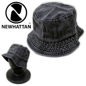 NEWHATTAN/DENIM BUCKET HAT(ニューハッタン/デニムバケットハット)【メンズ/レディース/男女兼用/帽子/アメカジ】【11,000円以上で送料無料】