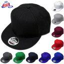 OTTO CAP/Wool Blend Flat Visor Pro Style Solid Snapback Caps(オットーキャップ/ウールブレンドフラットバイザープロスタイルソリッドスナップバ
