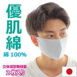 【2枚組】マスクホールガーメントニットマスク日本製