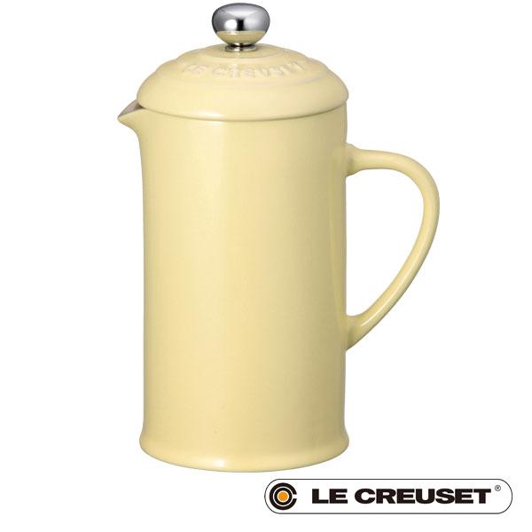 ル・クルーゼ コーヒー・プレス(S) 330ml レモネード 2018 イースター lecsto LE CREUSET ストーンウェア